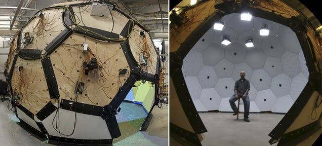A Dome Packed With 480 Cameras Captures Detailed 3D Images In Motion