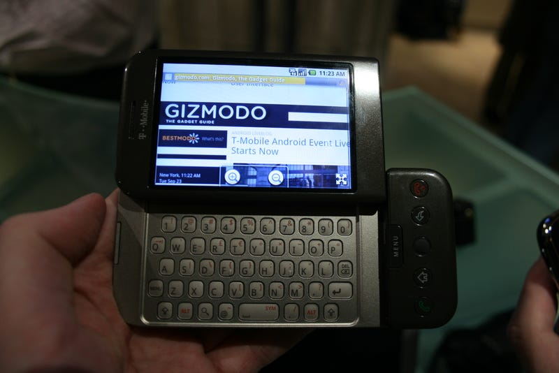 T-Mobile G1 Android Phone Hands-On