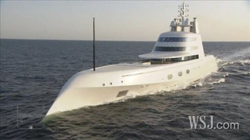 Never Before Seen Look Inside a $300 Million Phillippe Starck Mega-Yacht
