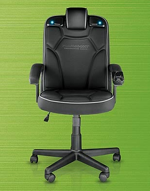 Pyramat Gaming Chair Helps You Keep Up Appearances in the Office