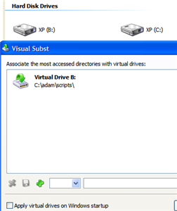 Mount any folder as a hard drive with Visual Subst