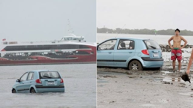 Tourists Follow Car GPS Into a Body of Water