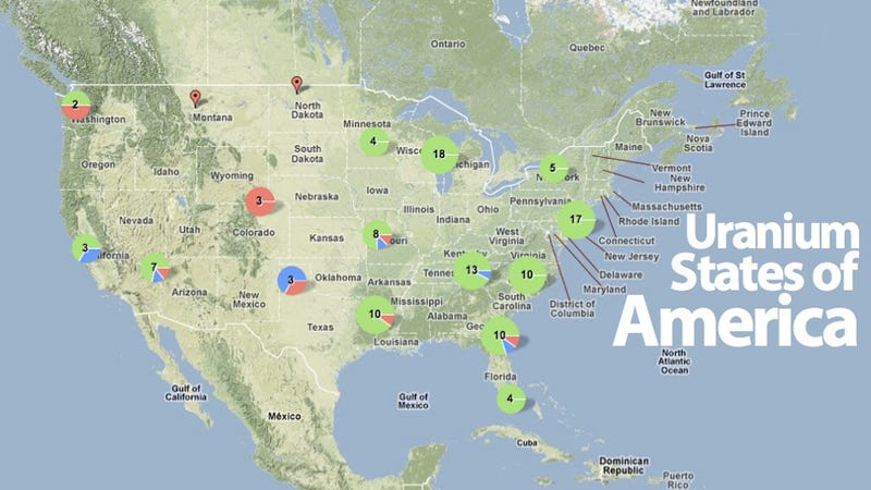 Are There Nukes Near You?