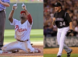 Playoff Pants Party: Phillies Vs. Rockies