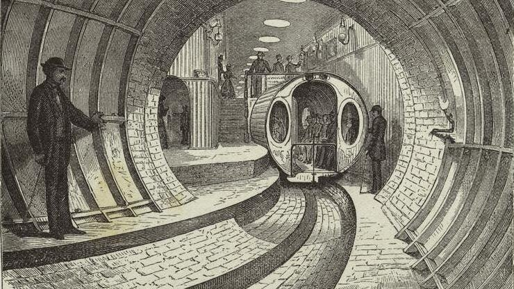 What Was The Most Ambitious Subway System Ever Designed?