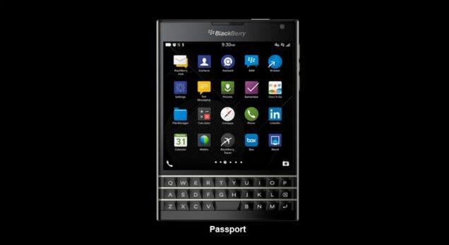 The Squarish BlackBerry