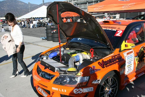 D1 Grand Prix: Team Orange and the Winning EVO IX
