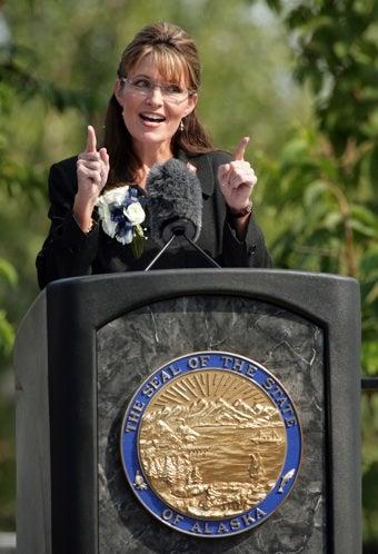 """Sarah Palin Warns Of Pro-Choice """"Mind-Set"""""""