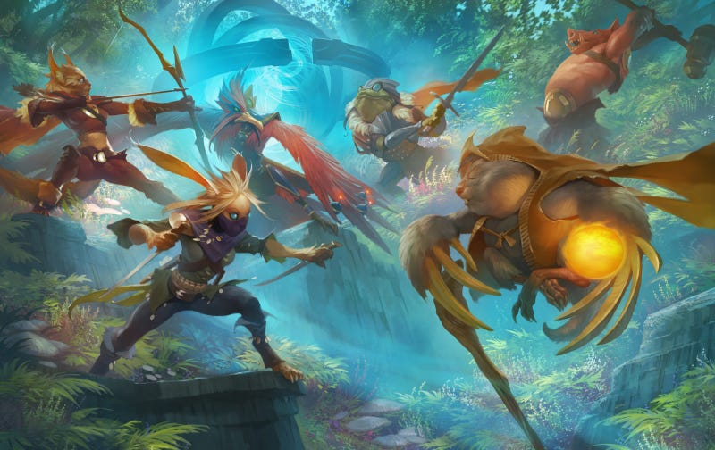 It's Like League Of Legends, Only For The iPad