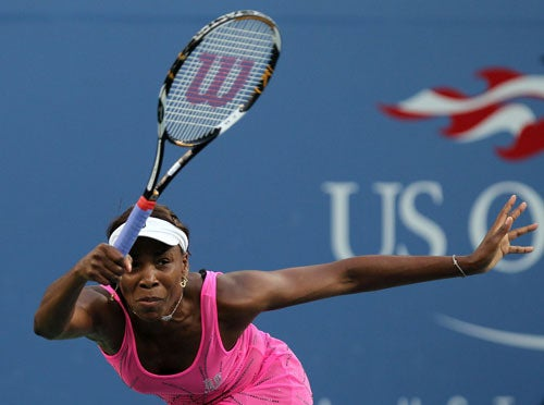 Venus Williams Rising Up To The Challenge Of Her Rival