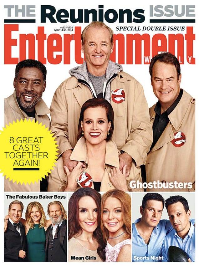 "Ghostbusters Reunion Image Asks, ""Do We Really Need A Reboot?"""