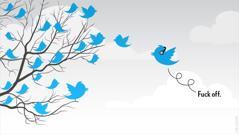 Teens Flock to Twitter Seeking to Be Left the Hell Alone
