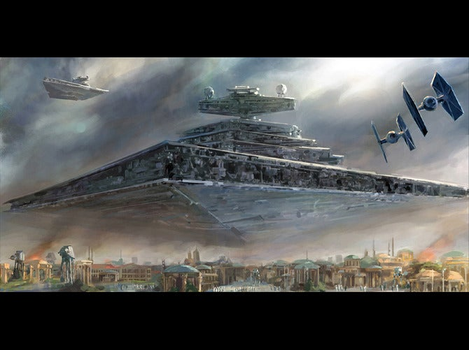This Artist Is Paid To Draw Star Wars Pictures All Day Long. So Jealous.