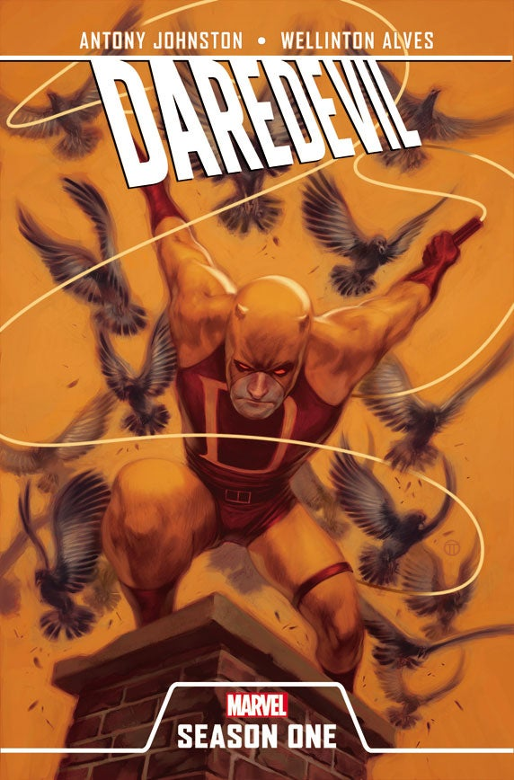 Read a 5-page preview of Marvel Comics' brand-new Daredevil: Season One graphic novel!