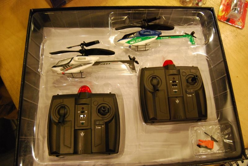 PicooZ Sky Challenger Laser Tag R/C Choppers Selling Soon