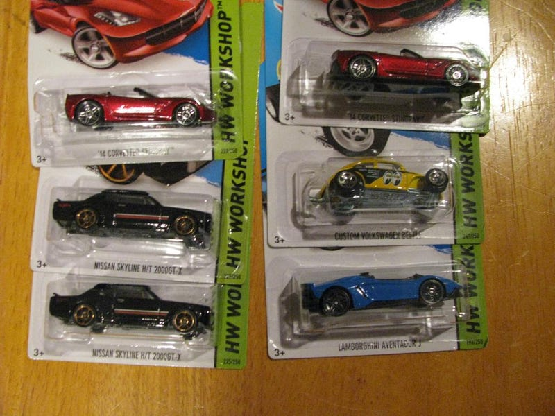 [HAWL] Super Haul from Walmart K and L case cars