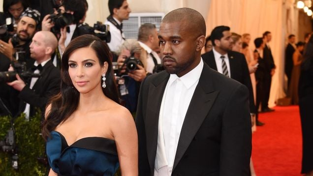 Kanye Fears Paparazzi Will Fly Drone into Pool and Electrocute His Baby