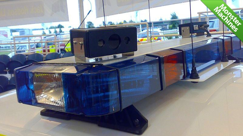 The Robotic Car-Tracking Eyes of the Law
