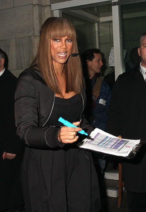 "Tyra Banks: ""You Better Work"""