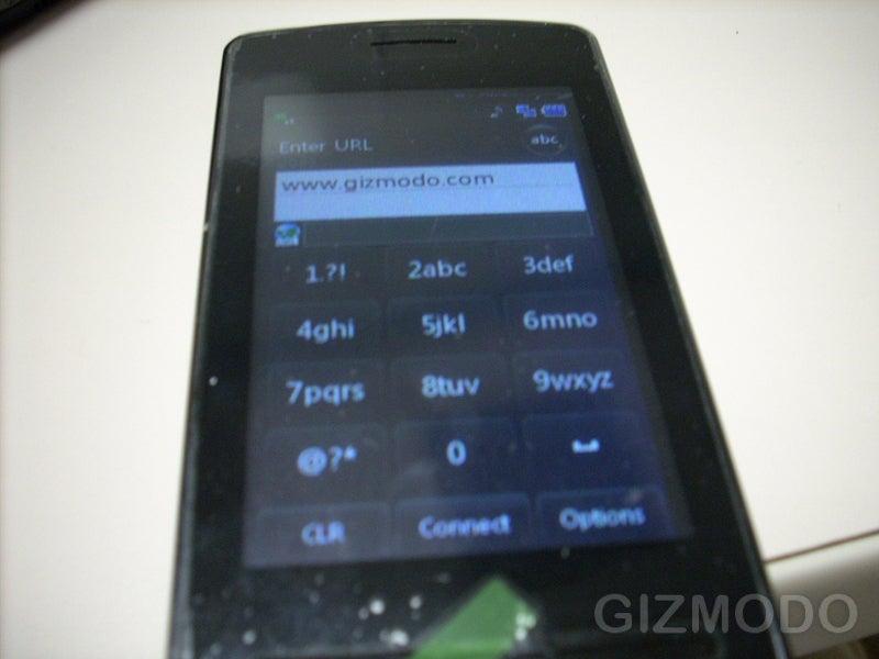 AT&T LG Prada Spy Shots