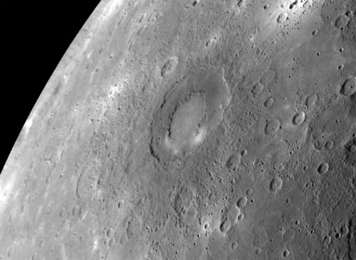 Mercury Flyby Maps New Territory