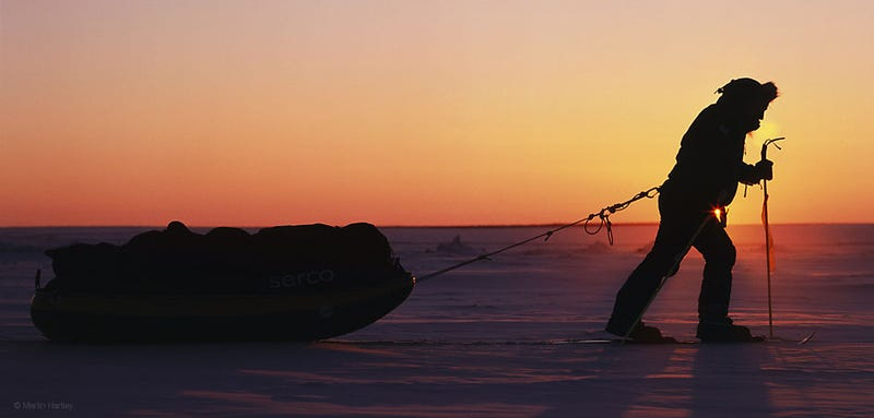 Walking To The South Pole (And Returning Alive)
