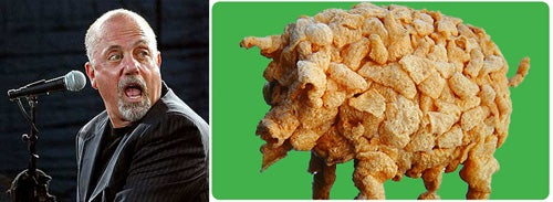 Billy Joel And Pork Rind Sculpting: Your Week Is Hereby Planned