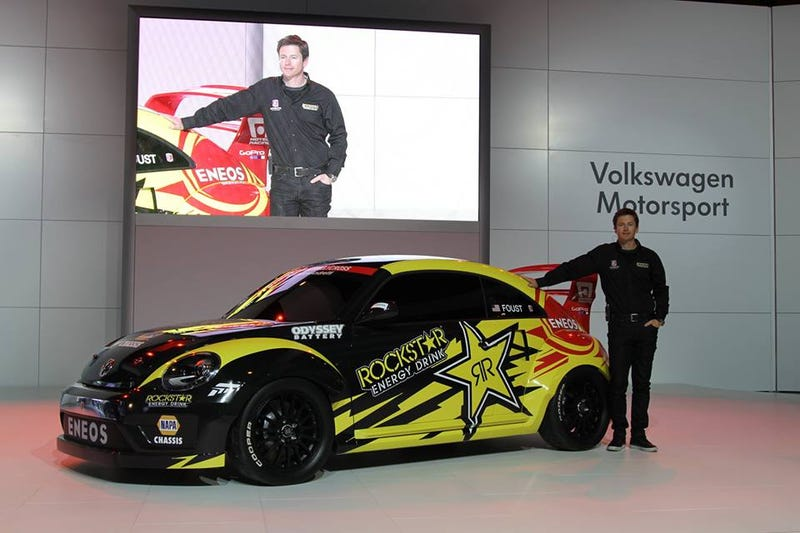 Foust goes VW for Global Rally-X