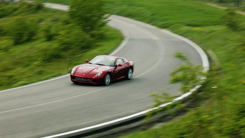Would You Teach Your Daughter Stick On A Ferrari 599?