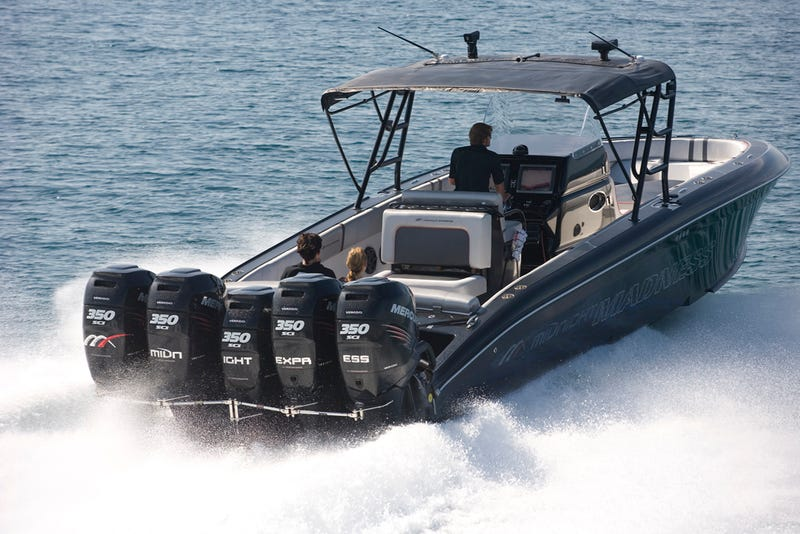 Welcome To The Craziest Outboard Center Console Boat EVER