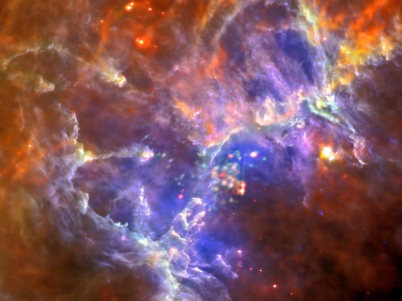 NASA's Amazing New Photo of the Eagle Nebula Reveals Surprising Facts
