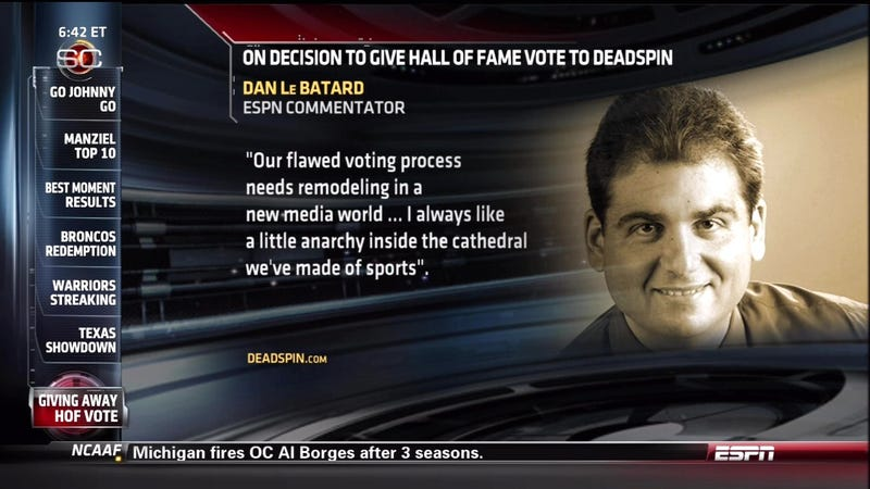 The Angry Things Writers Are Saying About Our Hall Of Fame Ballot
