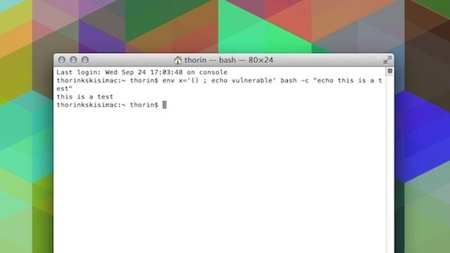 How To Check If Your Mac or Linux Machine Is Vulnerable to Shellshock