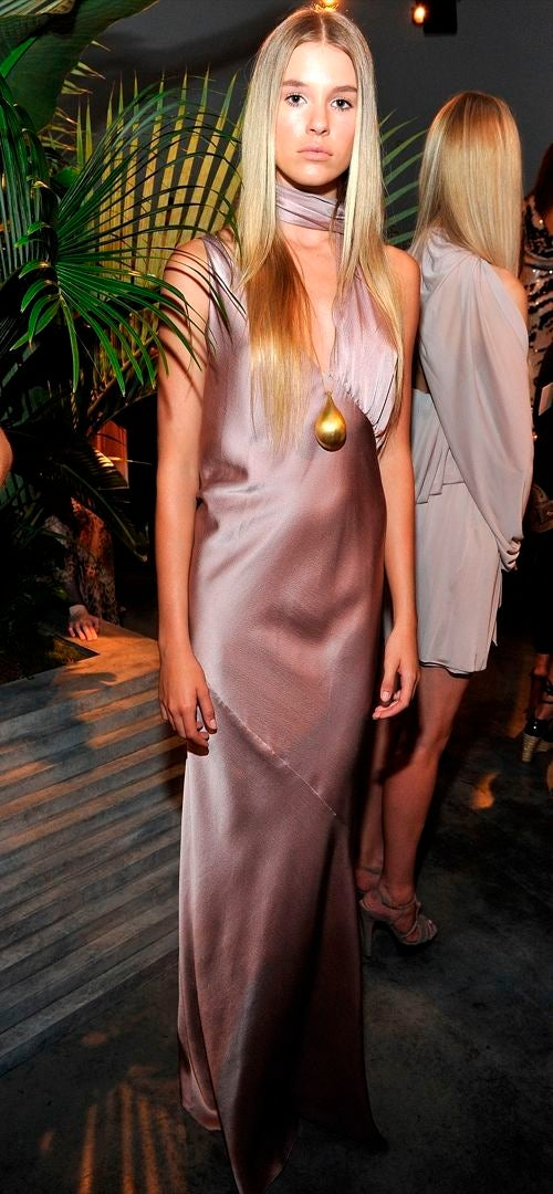 Halston Begrudgingly Acknowledges Spring With Drapey, Dull, Depressing Duds