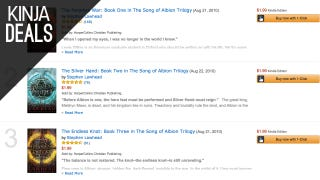 Today's Best Media Deals: Song of Albion Trilogy, $5 Blu-rays, & More