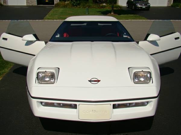 '89 Vette with THIRTYTWO original miles? NPOCP?