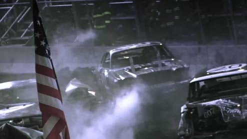 Watch The Rending Of Metal In Slow Motion: Demolition Derby Madness, Continued!