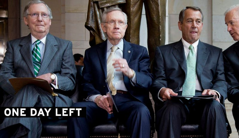 Senate Planning Shutdown Deal; Will the House Screw It All Up?