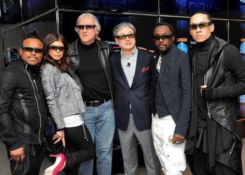 James Cameron Directing a 3D Black Eyed Peas Documentary