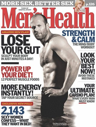 Update: Men's Health Stopped Writing New Cover Lines Years Ago