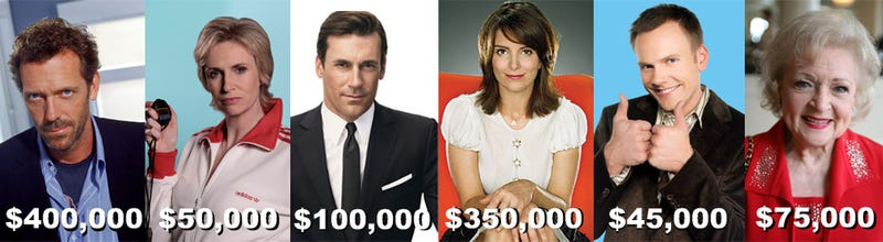 How Much Do Your Favorite TV Stars Get Paid?