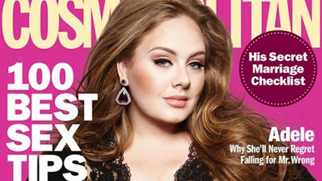 Why Wegmans Covered Adele's Cosmo Cover