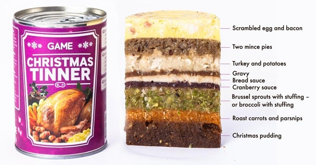 British Game Store Now Sells Dinner In A Can