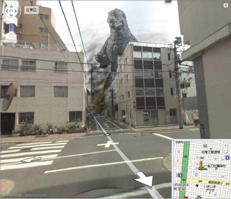 50 of the Most Insane Things Never Seen on Google Street View