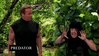 Arnold Schwarzenegger Acts Out All His Classics In Six Minutes