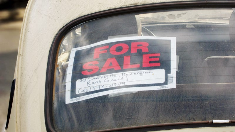 Ten Things To Do When You're Selling Your Car