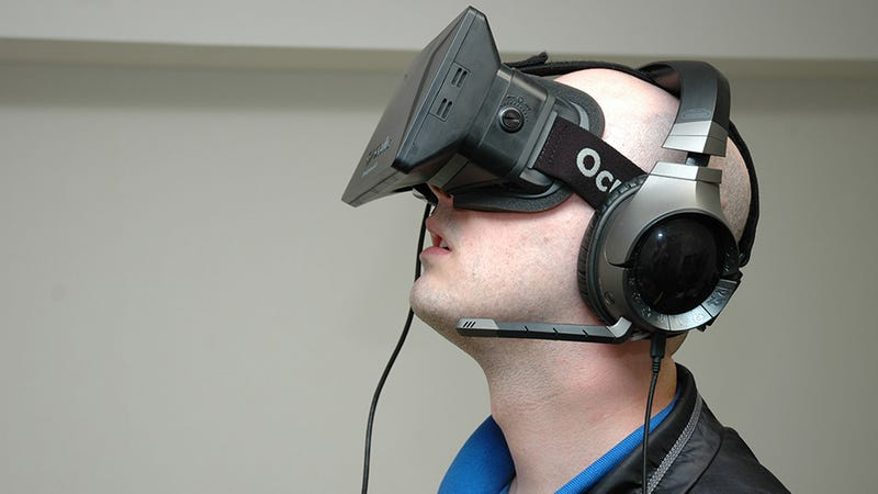 One Day, The Oculus Rift Headset Might Be Free
