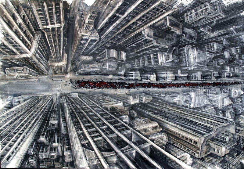 Acrophobes, Beware! These Paintings Will Give You Vertigo