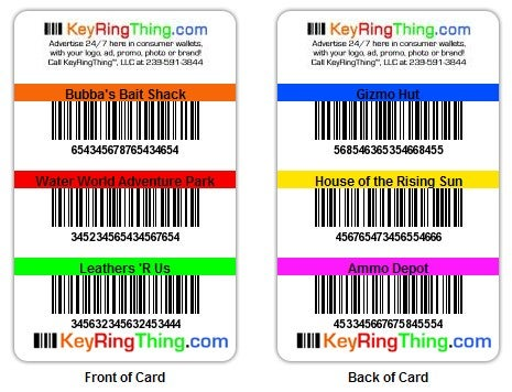 KeyRingThing Creates One Bonus Card to Rule Them All