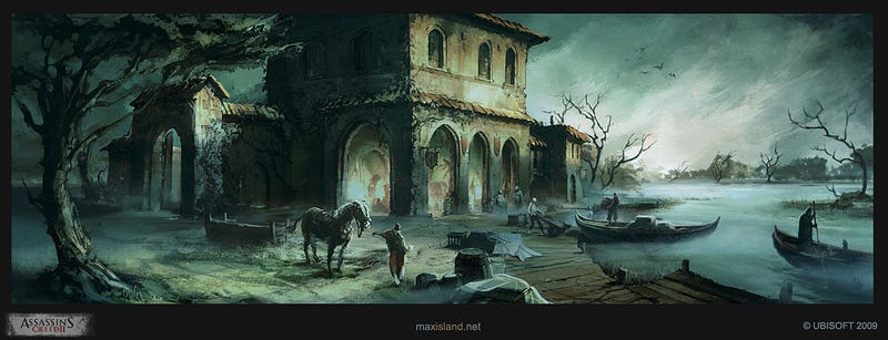 The Beautiful, If Stabby Art of the Assassin's Creed Series